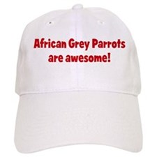 African Grey Parrots are awes Cap