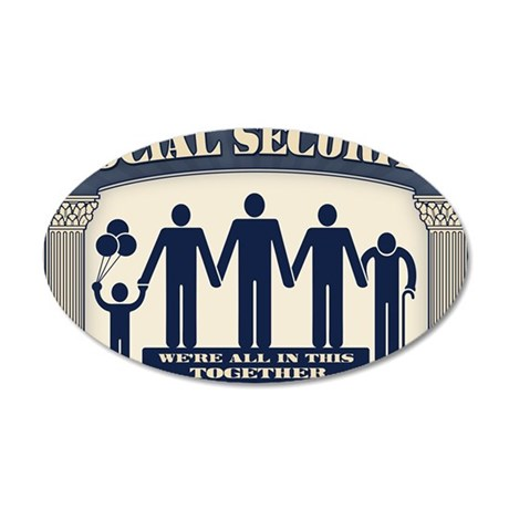 SSI-2-CRD 35x21 Oval Wall Decal