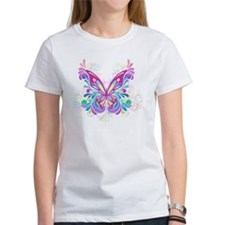 Decorative Butterfly Tee