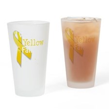 trans_i_wear_yellow_for_my_father_u Drinking Glass