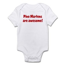 Pine Martens are awesome Infant Bodysuit