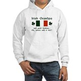 Gd Lkg Irish Grandpa Jumper Hoody
