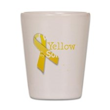 trans_i_wear_yellow_for_my_son_updated Shot Glass