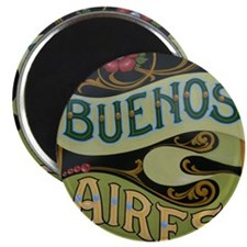 Buenos Aires fileteado Magnet