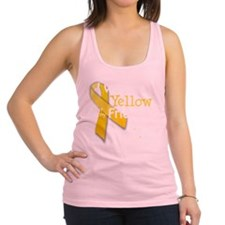 trans_i_wear_yellow_for_my_frie Racerback Tank Top