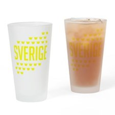 Sveriges kronor Drinking Glass