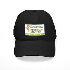 Natalies Baby Shower Sign Baseball Hat