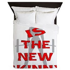 Strong Is The New Skinny Queen Duvet