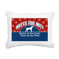 Mutts for Mitt stars Rectangular Canvas Pillow