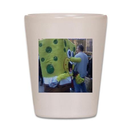 42nd St. Spongebob Shot Glass