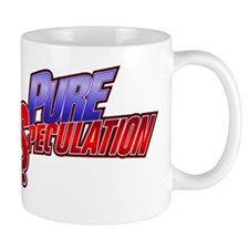Pure Speculation Large Logo Mug