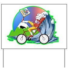 Hofman Logo lime outline Yard Sign