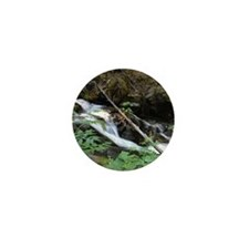Lower Brandy Creek Falls - Whiskeytown Mini Button