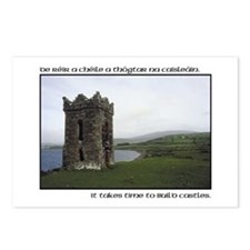 Takes Time to Build a Castle. Postcards (Package o