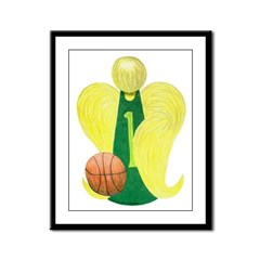 ALD PUREBSKTBALL Framed Panel Print