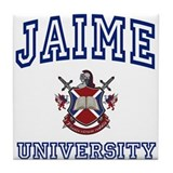 JAIME University Tile Coaster