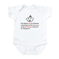My Diaper Smells Infant Bodysuit