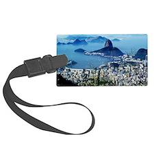 Corcovado - Rio De Janeiro Brazi Luggage Tag