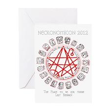 Necronomicon 2012 Greeting Card