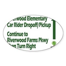 Riverwood Car Direction Decal