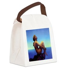 Maxfield Parrish Stars Canvas Lunch Bag