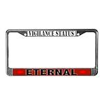 Eternal Vigilance License Plate Frame