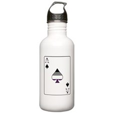 Ace of Spades Sports Water Bottle