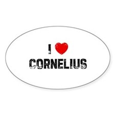 I * Cornelius Oval Decal