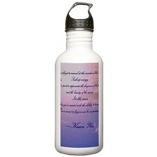 GRATITUDE POEM Water Bottle