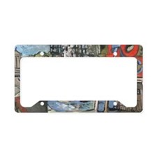 Philadelphia LOVE Park/ Alvin License Plate Holder