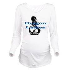DL2.png Long Sleeve Maternity T-Shirt