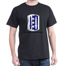 SSI - 2nd Infantry Brigade with Text T-Shirt