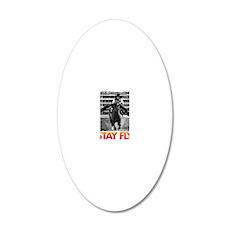 STAY FLY BABYFLO FALLON TAYL 20x12 Oval Wall Decal