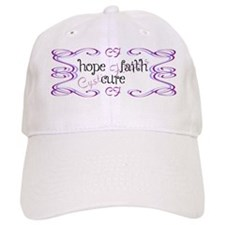 CF Hope Faith Cure Curls Baseball Cap