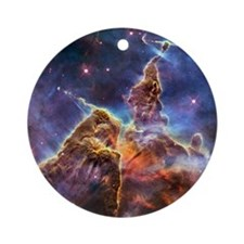 Carina Nebula Round Ornament