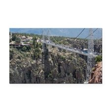 Royal Gorge Bridge Jan Rectangle Car Magnet