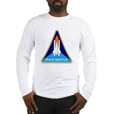 Space Shuttle Shield Long Sleeve T-Shirt