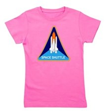 Space Shuttle Shield Girl's Tee