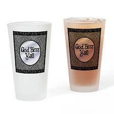 GodBlessYall2 Drinking Glass