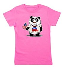 Panda Politics Republican Girl's Tee