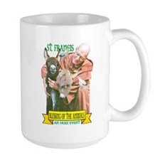 ST. FRANCIS OF ASSISI BLESSES Mug