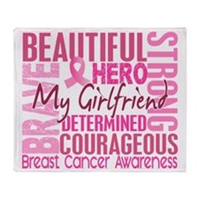 - Tribute Square Girlfriend Throw Blanket