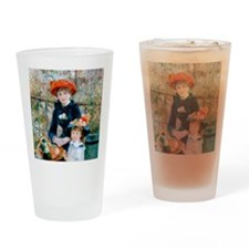 WoodClock Renoir Drinking Glass