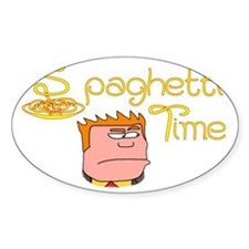 Spaghetti Time Decal