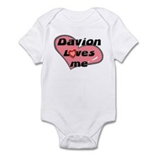 davion loves me  Infant Bodysuit