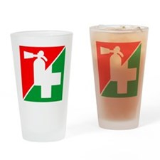 Fire/1st Aid Image Drinking Glass