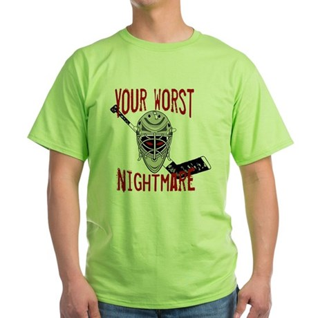 Worst Nightmare Green T-Shirt