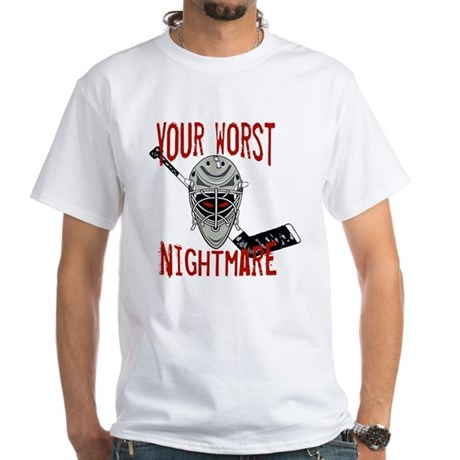 Worst Nightmare White T-Shirt