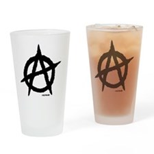 R-AnaClutchBagWhite Drinking Glass