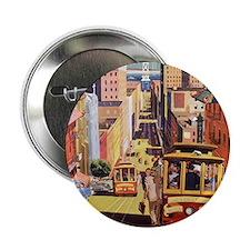 "Vintage San Francisco 2.25"" Button"
